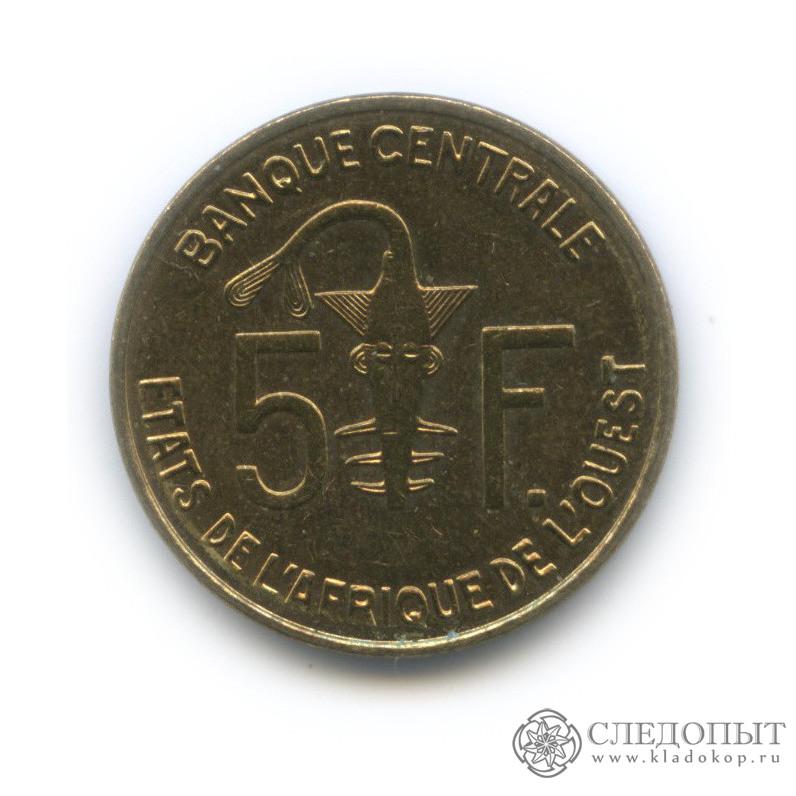 5 франков 2011 (Западная Африка (BCEAO))