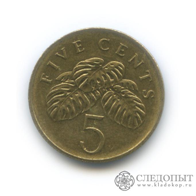 5 центов 2004 (Сингапур)