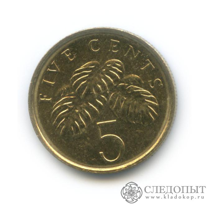 5 центов 2012 (Сингапур)