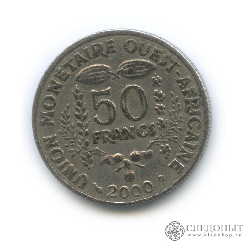 50 франков 2000 (Западная Африка (BCEAO))