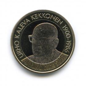 5евро 2017— Урхо Калека Кекконен. Президенты Финляндии— Финляндия