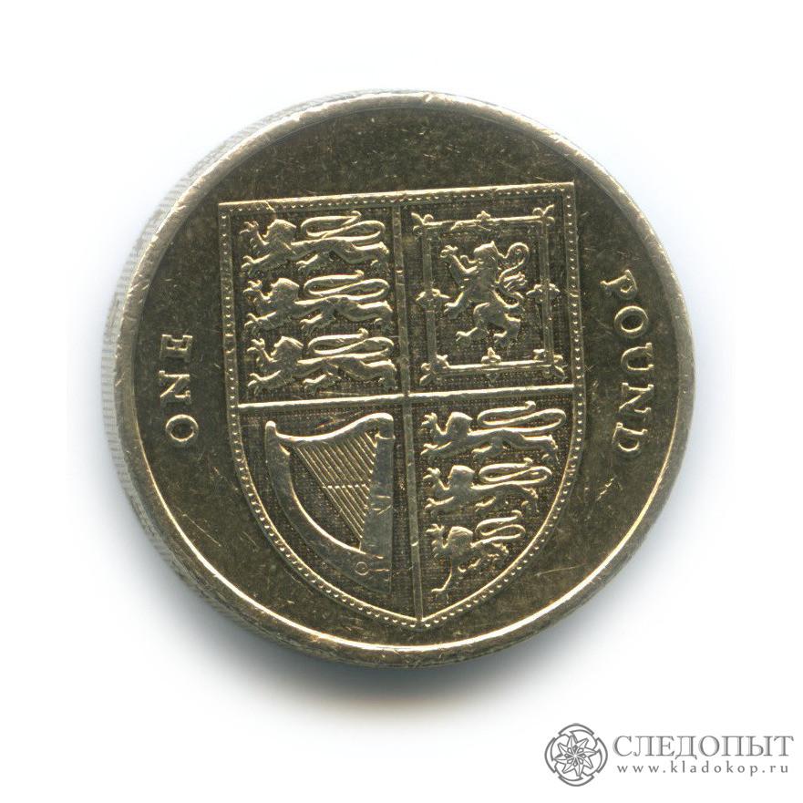 1 фунт 2012 (Великобритания)