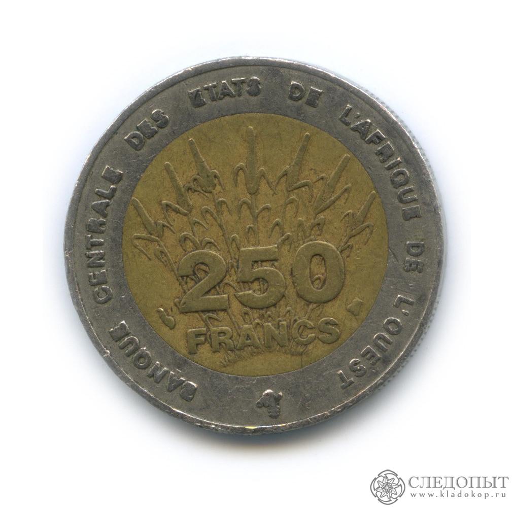 250 франков 1996 (Западная Африка (BCEAO))