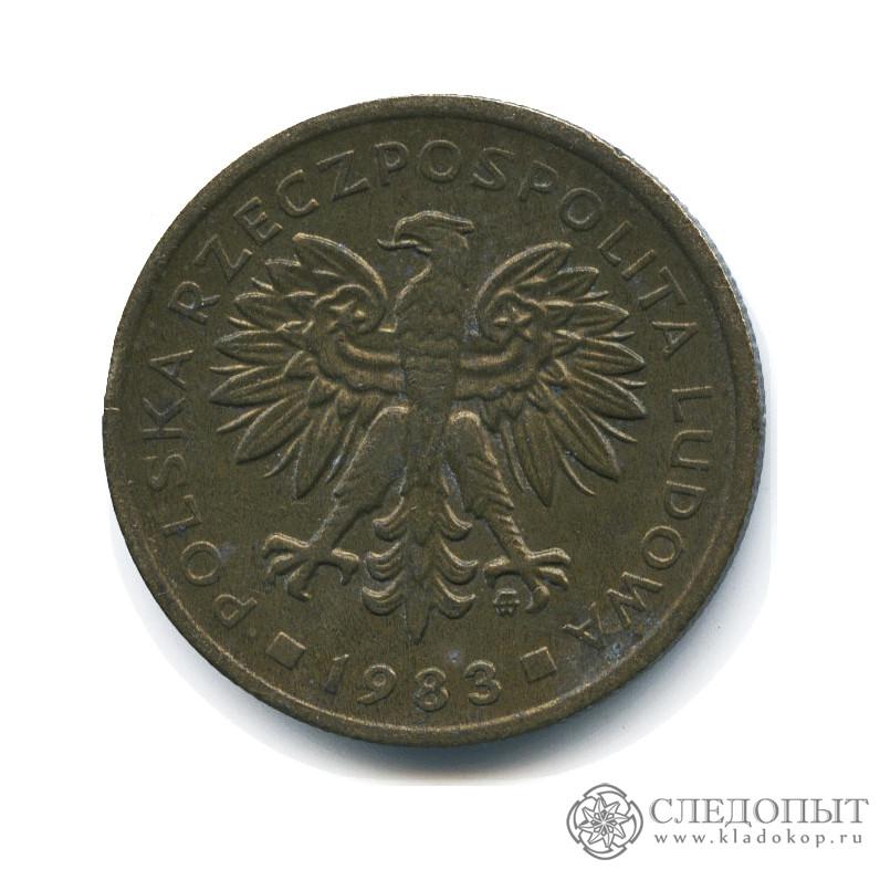 2 злотых 1982 г цена купить белорусский рубль в киеве