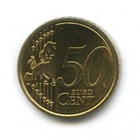 50 центов 2008 года (Регулярный выпуск)— Кипр UNC