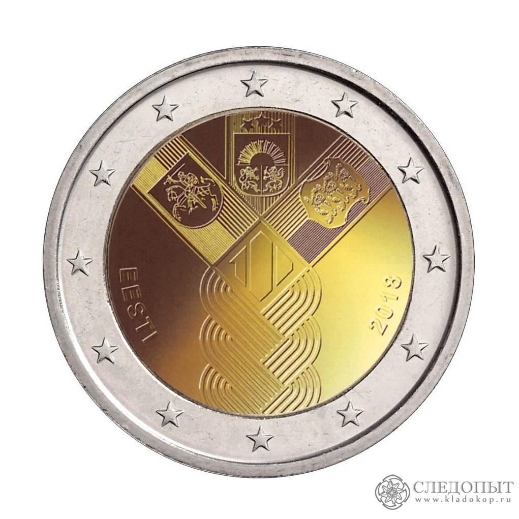 2евро 2018— 100 лет независимости Эстонии