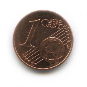 1 цент 2011 года (Регулярный выпуск)— Словакия UNC