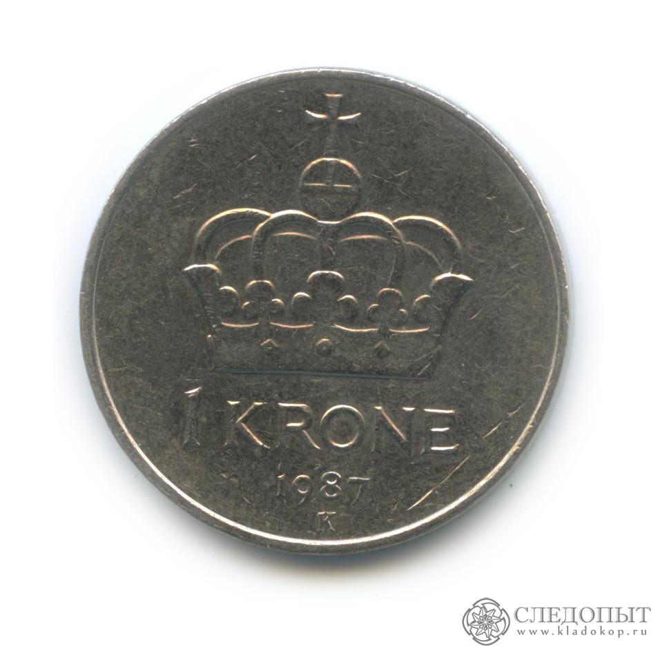 1 крона 1987 (Норвегия)
