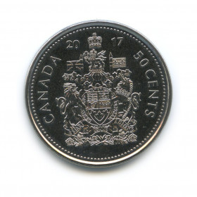 50 центов 2017 года (Регулярный выпуск)— Канада