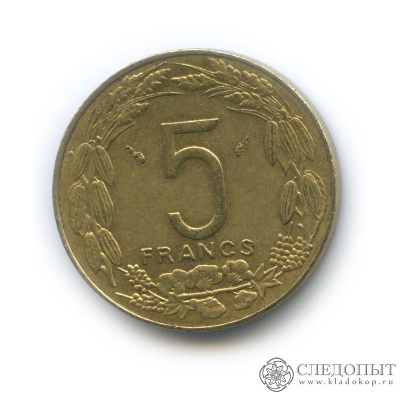 5 франков 1985 (Центральная Африка (BEAC))