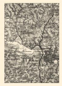 Исторический атлас Тульской губернии: военно-топографическая карта 1863 года