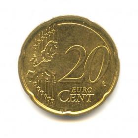 20 центов 2008 года (Регулярный выпуск) — Мальта