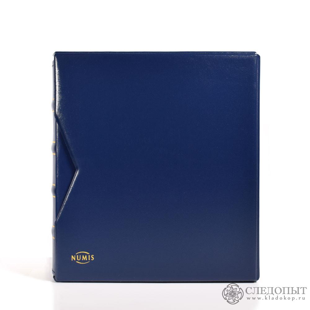 Альбом «Classic NUMIS» вфутляре, без листов (синий)