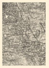 Исторический атлас Смоленской губернии: военно-топографическая карта 1863 года