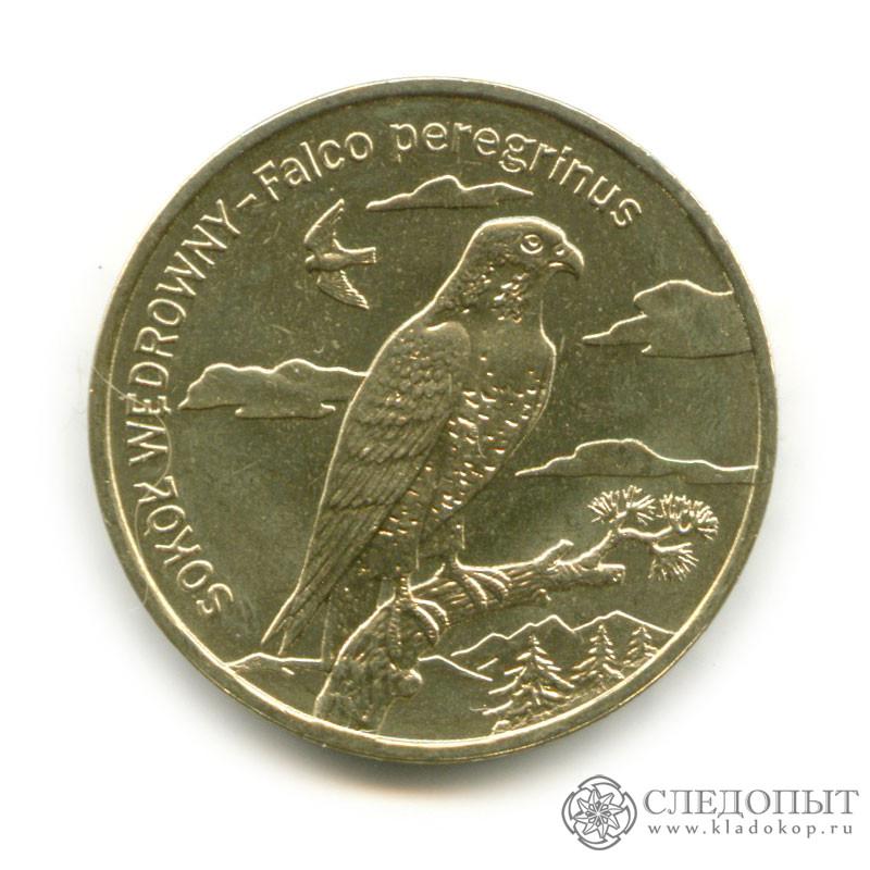 2 злотых сапсаг монета георгий