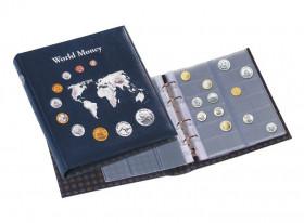 Альбом для монет «World Money» без футляра, слистами