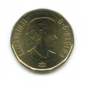 1 доллар 2017— Объединённая нация. 150 лет Конфедерации Канада. (Юбилейная монета)— Канада