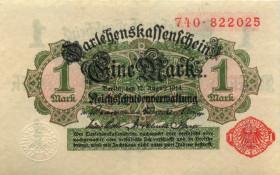 1 марка 1914 года— Берлин, Германия