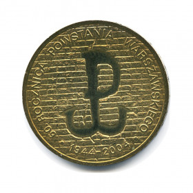Польша 2 злотых 2010 варшава номер по краузе икона коронование пресвятой богородицы