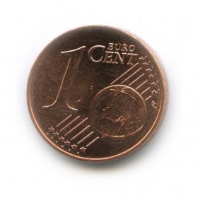 1 цент 2013 года (Регулярный выпуск)— Словакия UNC