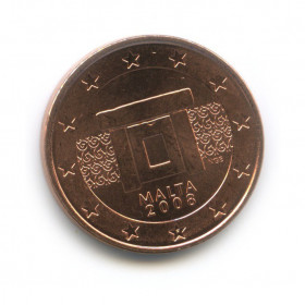 5 центов 2008 года (Регулярный выпуск)— Мальта UNC
