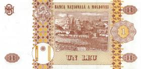 1 лей 1999 - Молдова ПРЕСС