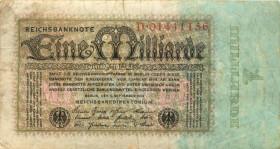 1 миллиард 1923 года— Германия