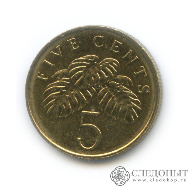 5 центов 2009 (Сингапур)