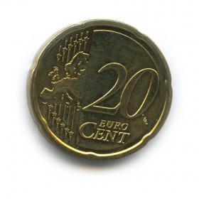 20 центов 2008 года (Регулярный выпуск)— Кипр UNC