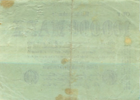 100000 марок 1923 года— Германия