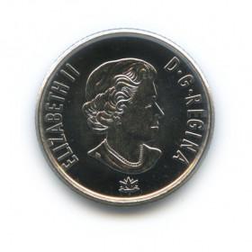 10 центов 2017— Крылья мира. 150 лет Конфедерации Канада. (Юбилейная монета)— Канада