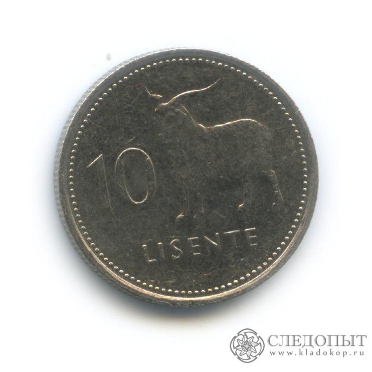 10 лисенте 1983 (Лесото)