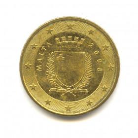 50 центов 2008 года (Регулярный выпуск) — Мальта