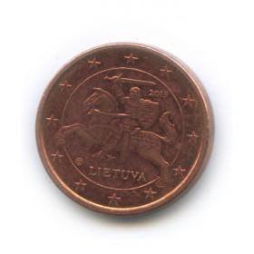 1 цент 2015 года (Регулярный выпуск)— Литва