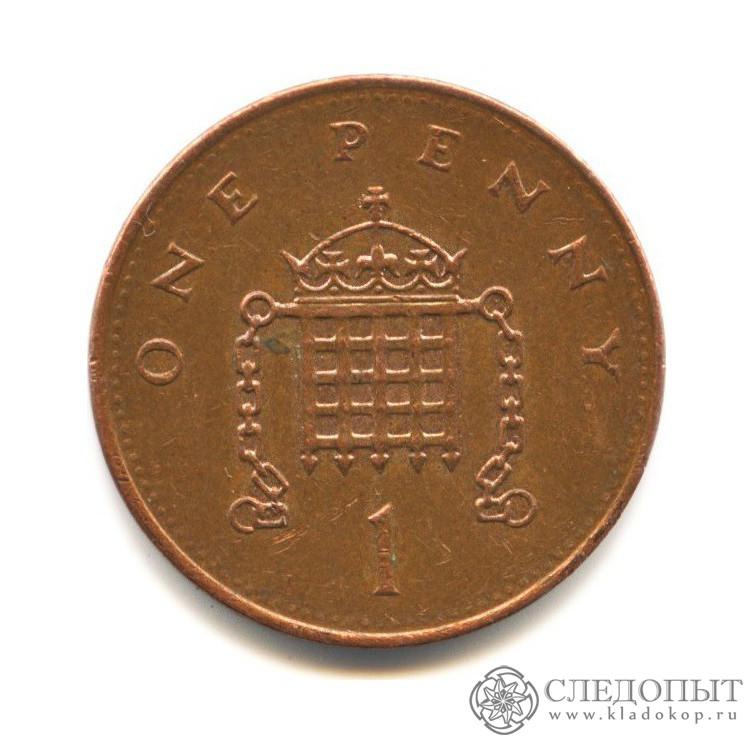 1 пенни 1994 (Великобритания)