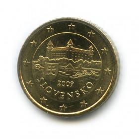 50 центов 2009 года (Регулярный выпуск)— Словакия UNC