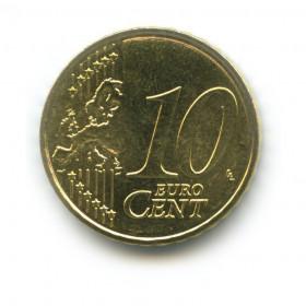 10 центов 2008 года (Регулярный выпуск)— Мальта UNC