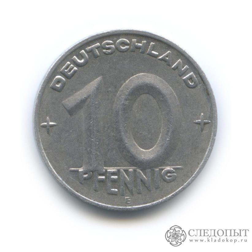 10 пфеннигов 1950 (Германия (ГДР))