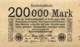 200000 марок 1923 года— Германия