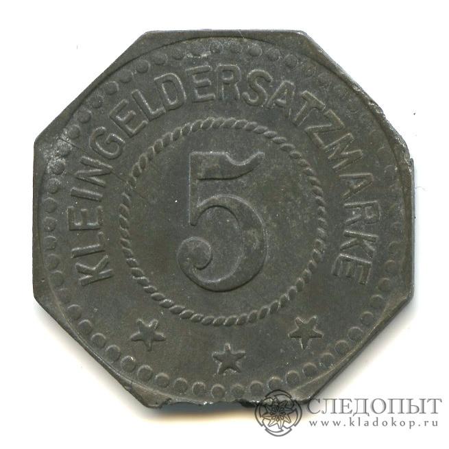5 марок 1917— Германия (нотгельд)